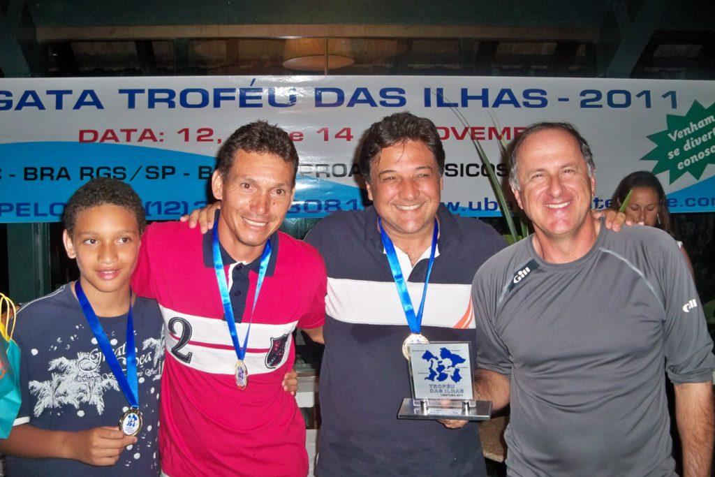 Vencedores da Classe RGS A- Tripulação Emb. Conquista 3