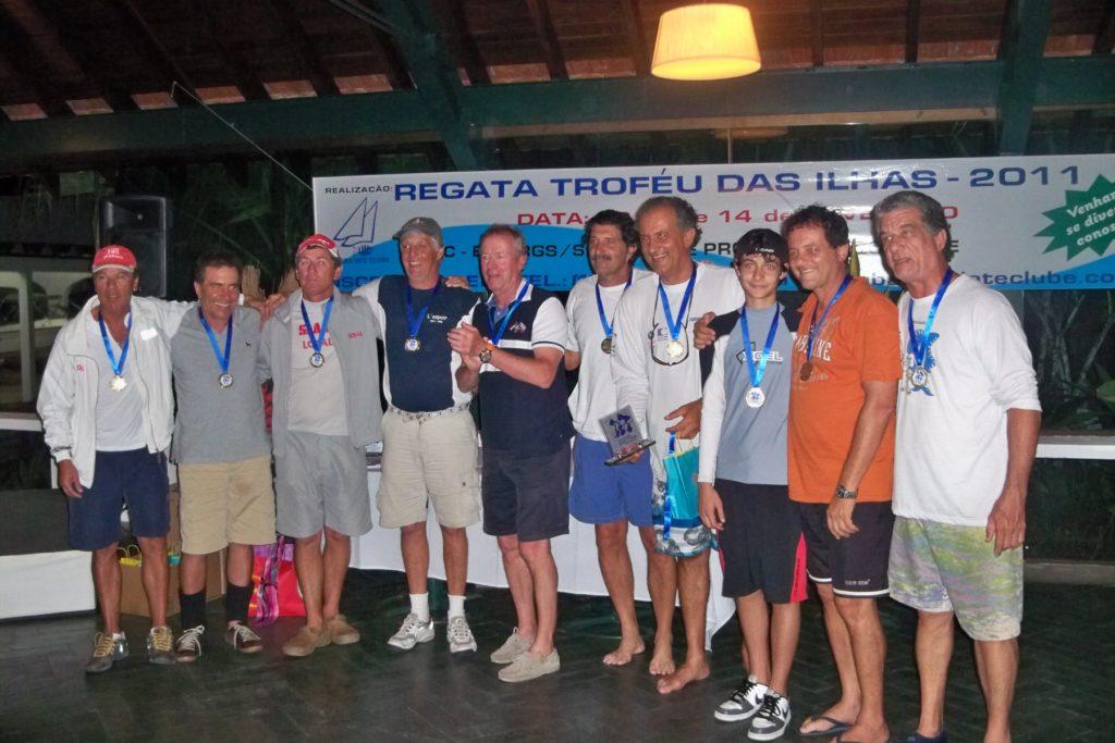 ganhadores da classe ORC - Tripulação Emb. Tembó Guaçu